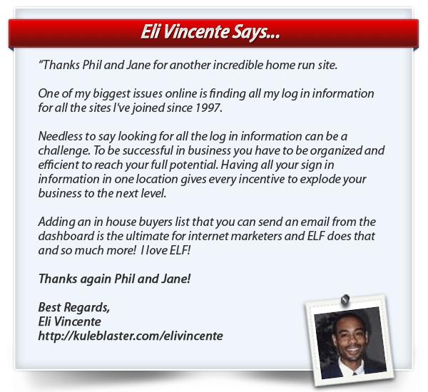 Eli Vincente testimonial