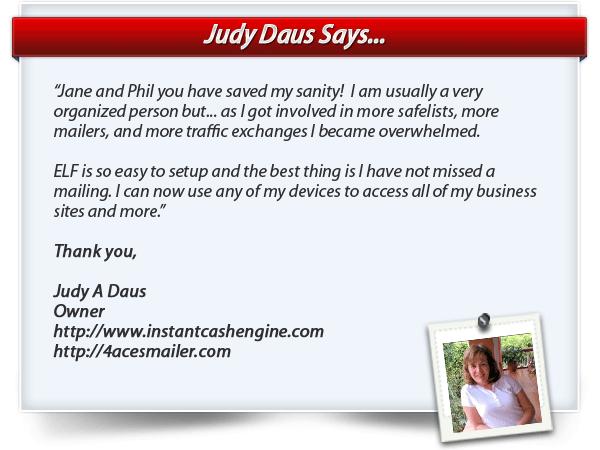 Judy Daus testimonial