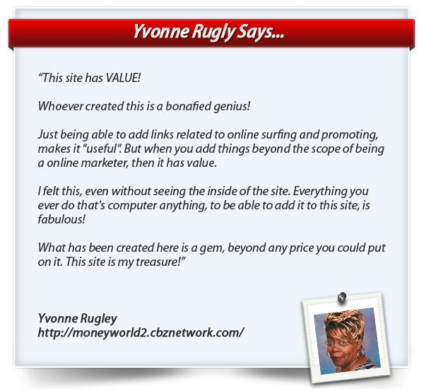 Yvonne Rugley Testimonial