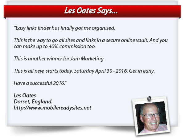 Les Oates testimonial