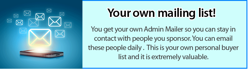 Your own Admin mailing list!