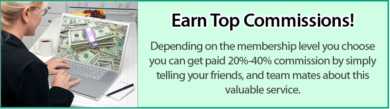 Earn top commission